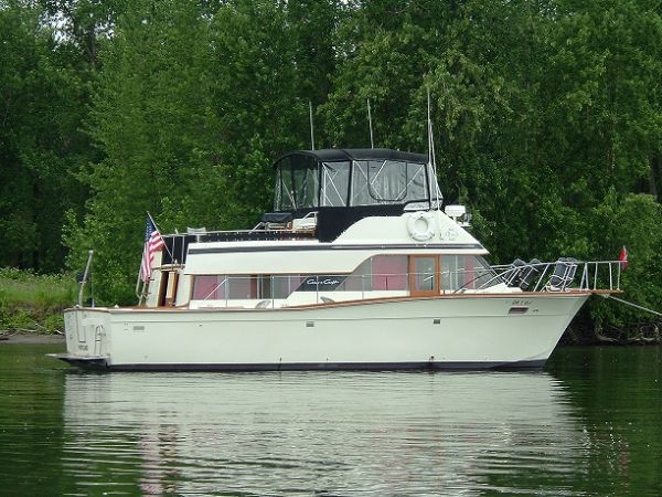 A 30 foot Chris Craft Coho is our Educational Clubhouse for Future Captains ...